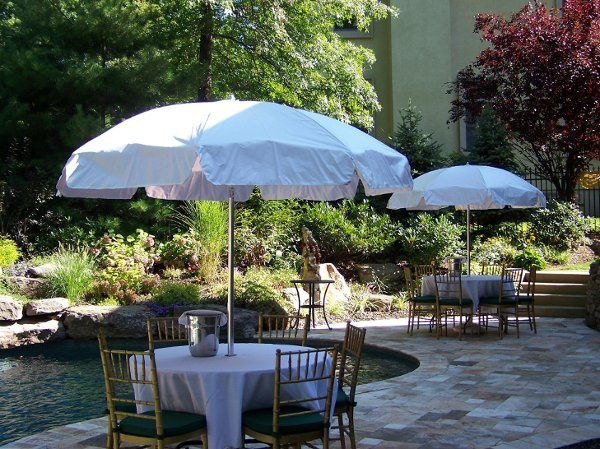 Tmx 1237555518827 UmbrellaTable2 Wood Ridge wedding rental