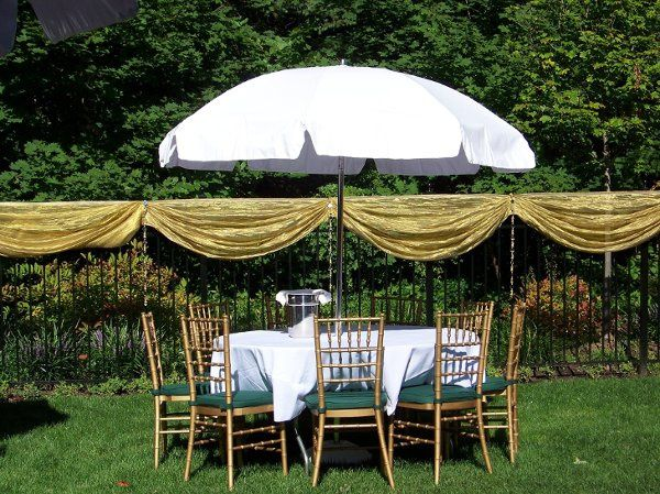 Tmx 1237555519562 UmbrellaTable1 Wood Ridge wedding rental