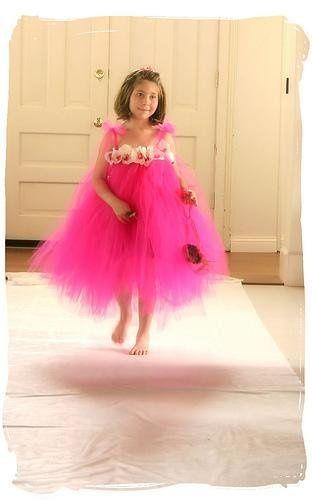 Pink Dress with Diamonds!