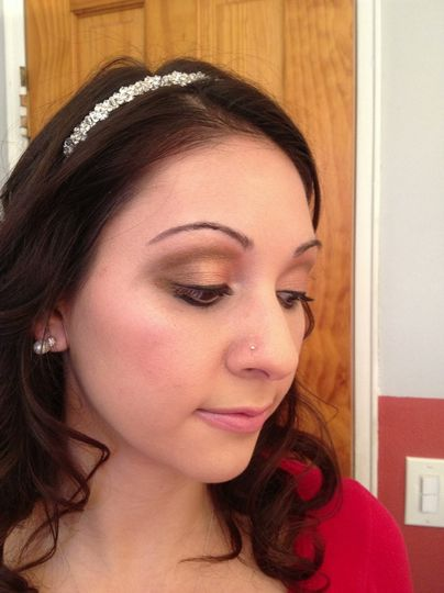 My Bride LOVED The Makeup I did! 1.4.13