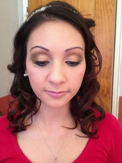 My Bride LOVED The Bridal Makeup I Did On Her!! 1.4.13
