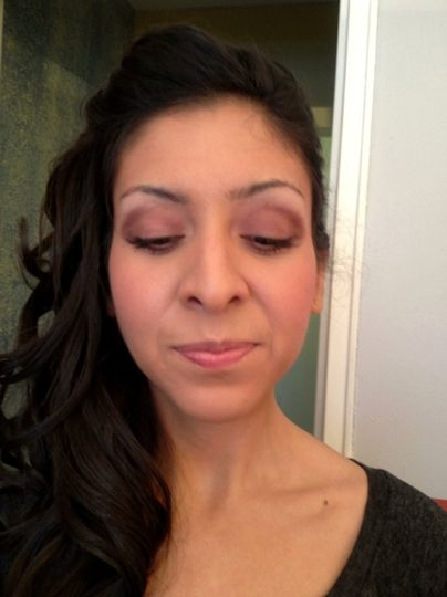 This Bridesmaid I did makeup on said she never looked better. 1.4.13
