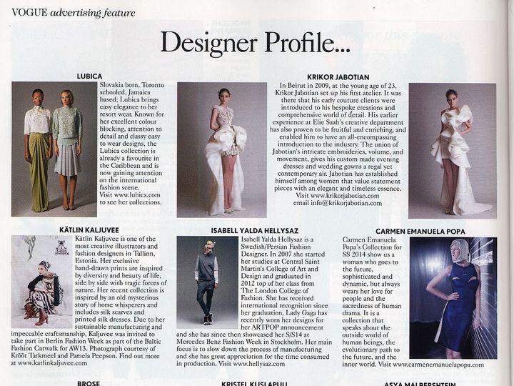 Tmx 1399559832789 Designer Profil Hoboken wedding dress
