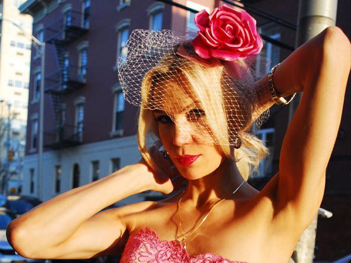 Tmx 1399562983358 Pink Gown Spanis Hoboken wedding dress