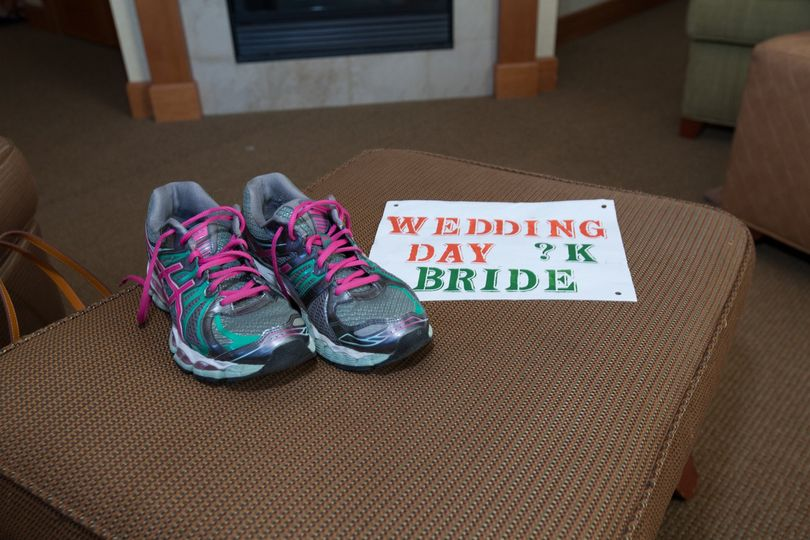 Shoes for the the bride