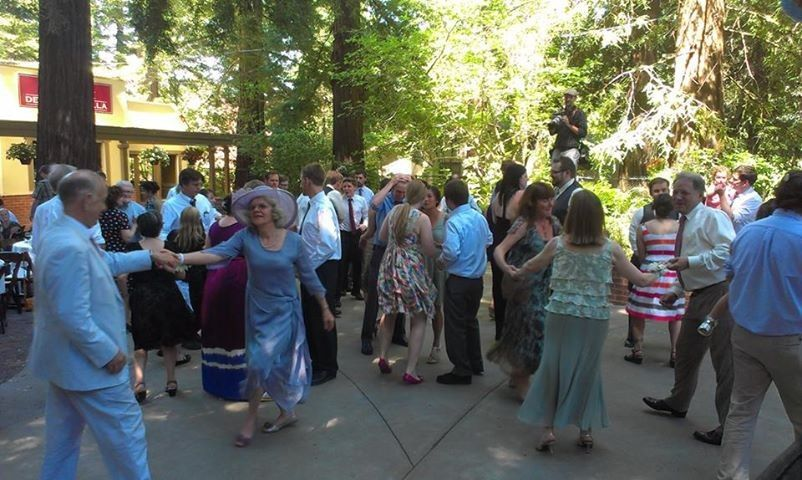 Dancing among the redwoods in Northern California