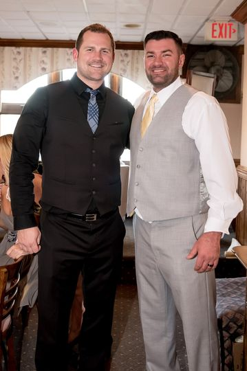 Photo with the groom