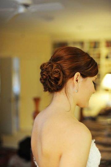 Grissett-Smith Wedding Rainbow Presbyterian/Events on Court Gadsden, AL Hair and Makeup: Breanna...