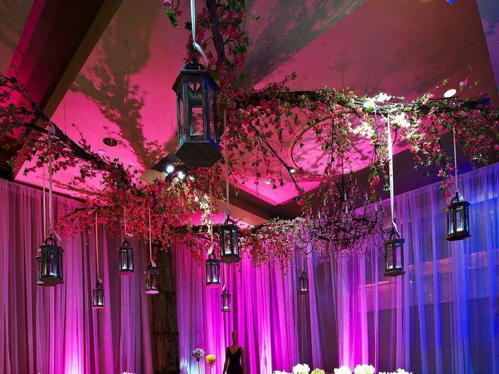 Tmx 1458049973592 Fashionframhouse Table Sheer Drape Pink Purple Blu Baltimore, MD wedding eventproduction
