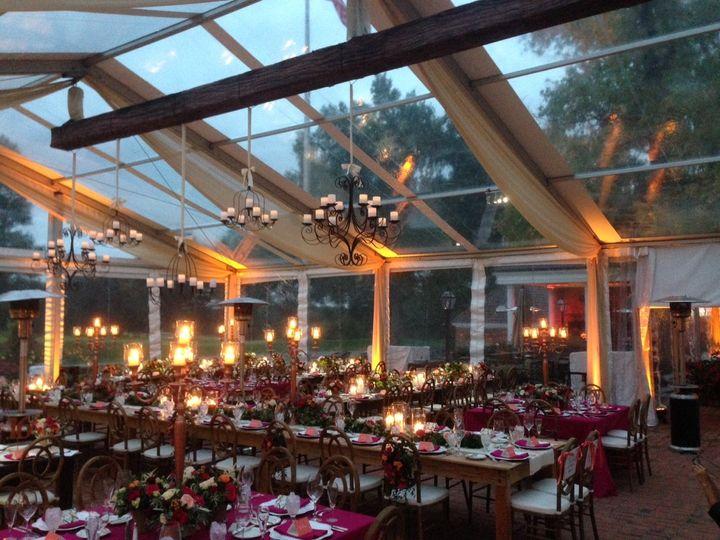 Uplighting, custom truss covers, tent lighting