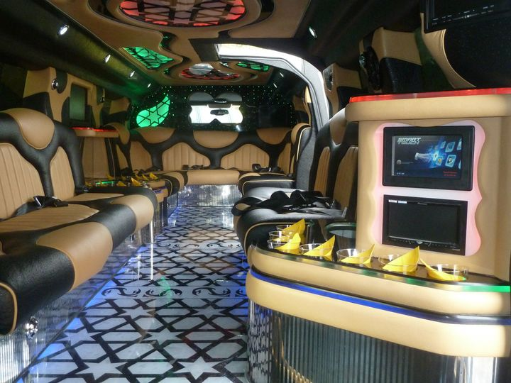 Tmx 1401917419338 Inside Hummer Limo   Copy Alexandria, District Of Columbia wedding transportation