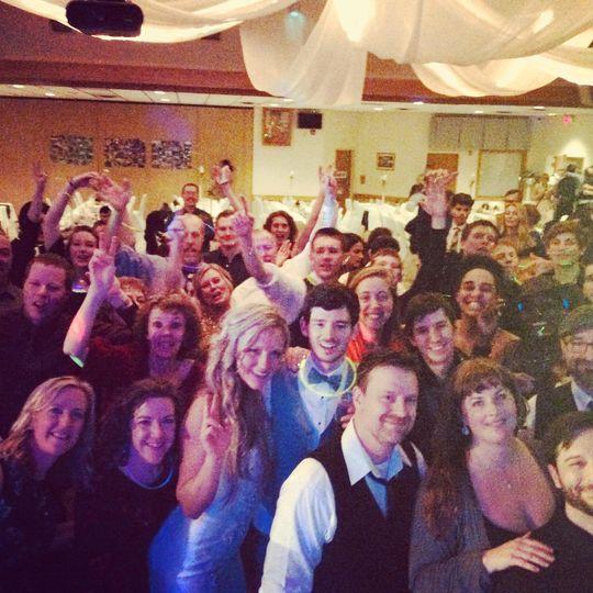 Jackie and Dustin's wedding!