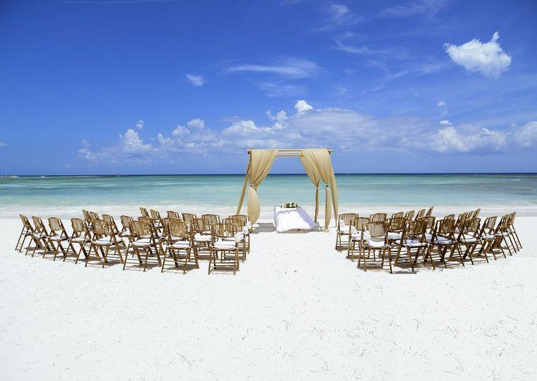 Dreamed beach venue