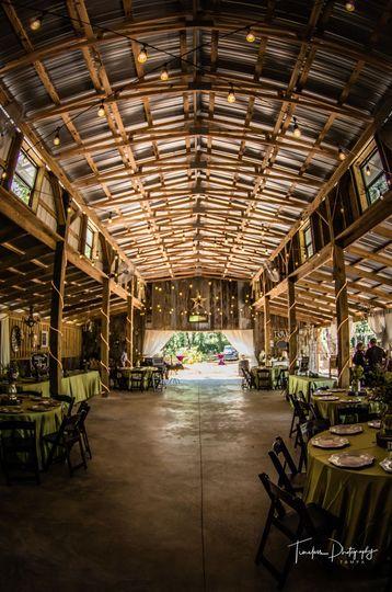 Southern Streams Ranch barn