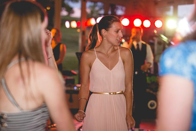Everyone gets on the dance floor at a Sunshine Symphony wedding.