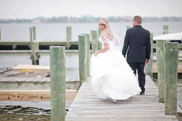 Walking down the dock