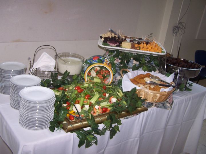 Appetizer Display served prior to dinner.