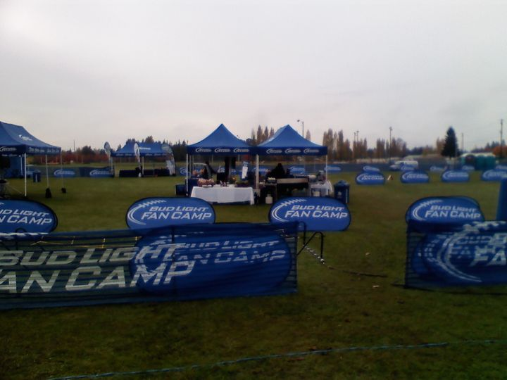 Bud Light Camp Event