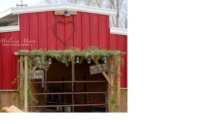 Wedding Decorations from the Red Heart Barn