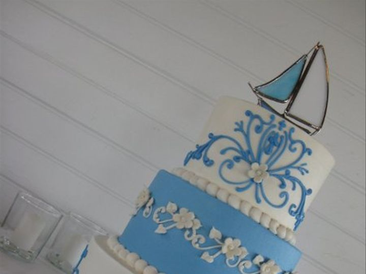 Tmx 1308841923725 IMG6490 Haines City, FL wedding cake