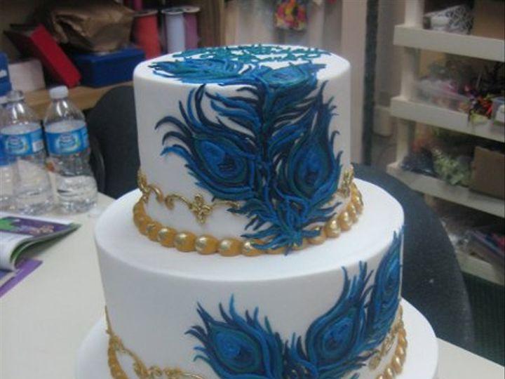 Tmx 1334938257942 IMG1126 Haines City, FL wedding cake