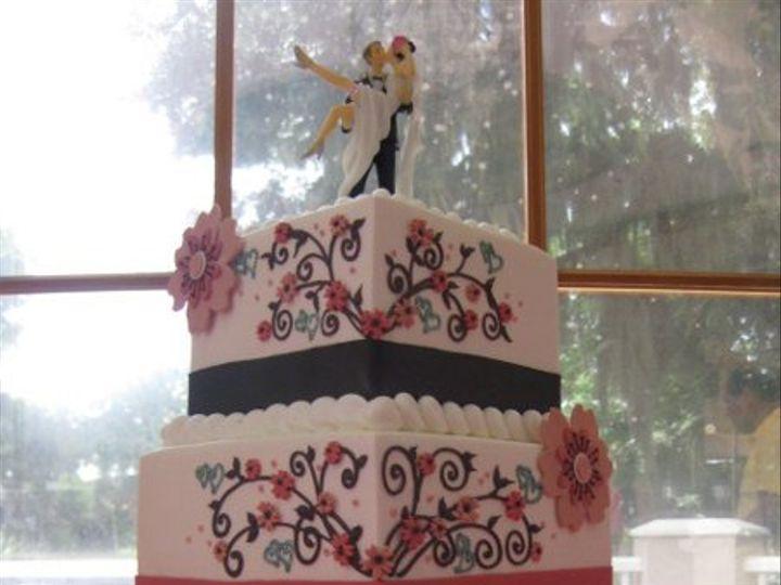Tmx 1334938303580 IMG5552 Haines City, FL wedding cake