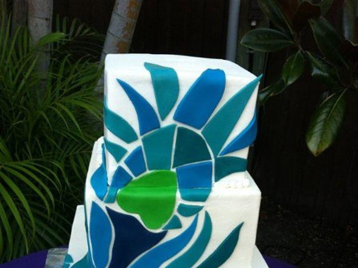 Tmx 1334938380281 Peacock Haines City, FL wedding cake