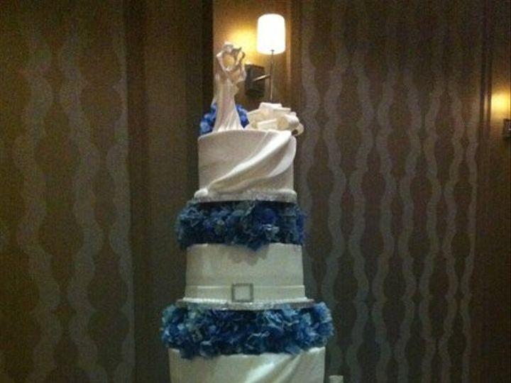 Tmx 1334938682307 VanBrunt Haines City, FL wedding cake