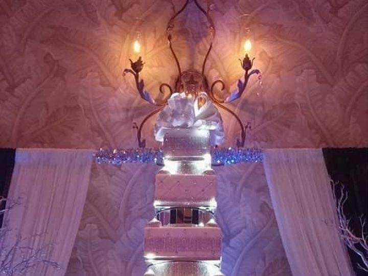 Tmx 1445555589839 Bling Wedding Cake Haines City, FL wedding cake