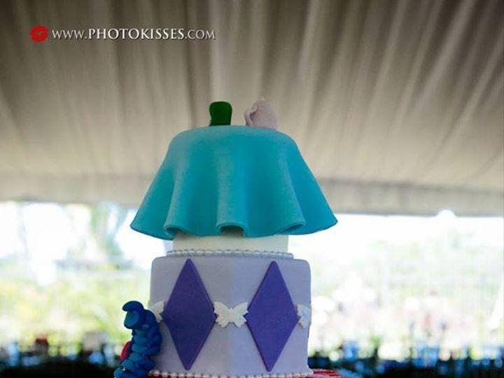 Tmx 1445555813503 Cut The Cake Alice In Wonderland Haines City, FL wedding cake