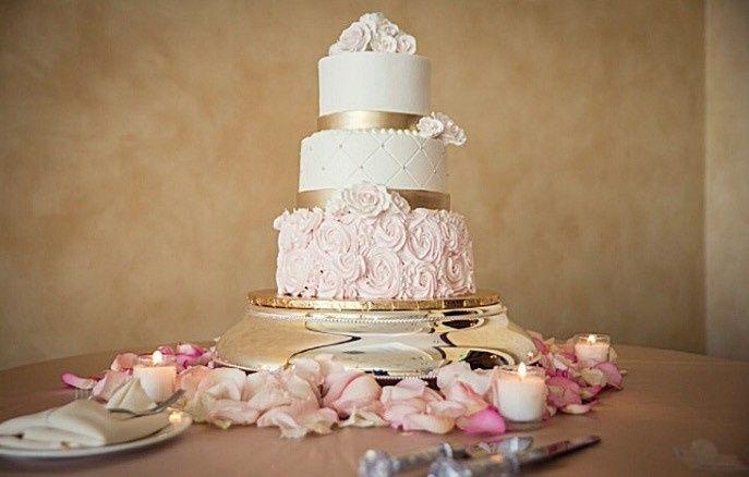 Tmx 1445557997470 Rossette Cake. Haines City, FL wedding cake