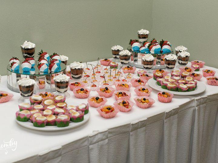 Tmx 1445558481790 Full Desert Table Display Haines City, FL wedding cake
