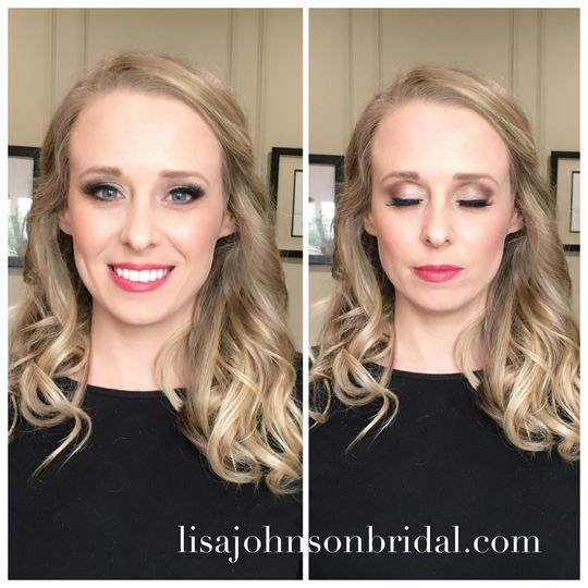 Orange Beach, Gulf Shores, Mobile, Fairhope Alabama Makeup by Lisa Johnson Bridal