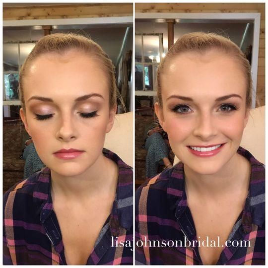 Orange Beach, Gulf Shores, Fairhope, Alabama Makeup by Lisa Johnson Bridal
