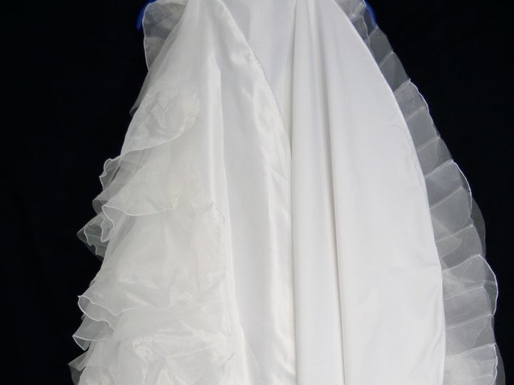 Tmx 1413901945590 Bottom Back Hem Left And Right After Schenectady, New York wedding dress