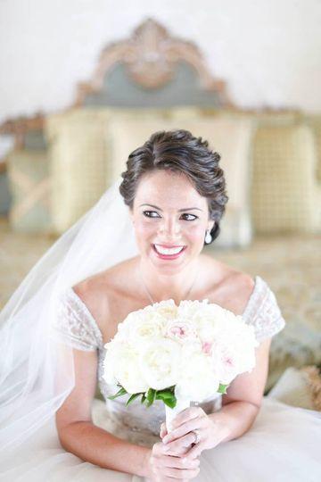 Beautiful bridal look