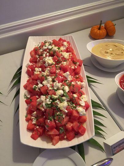 Freshly prepared Salads.