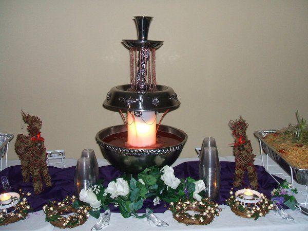 Keiko Johnson's food table