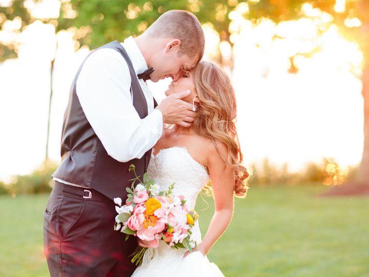Tmx 1452575194717 Billyjennycoralpeoniessunset2 Newville wedding florist