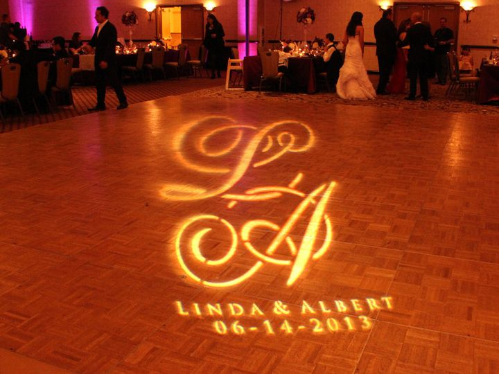 Tmx 1448930690553 Gobos Monogram Gallery 03 Austin, TX wedding dj