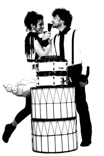 Portrait with the drums