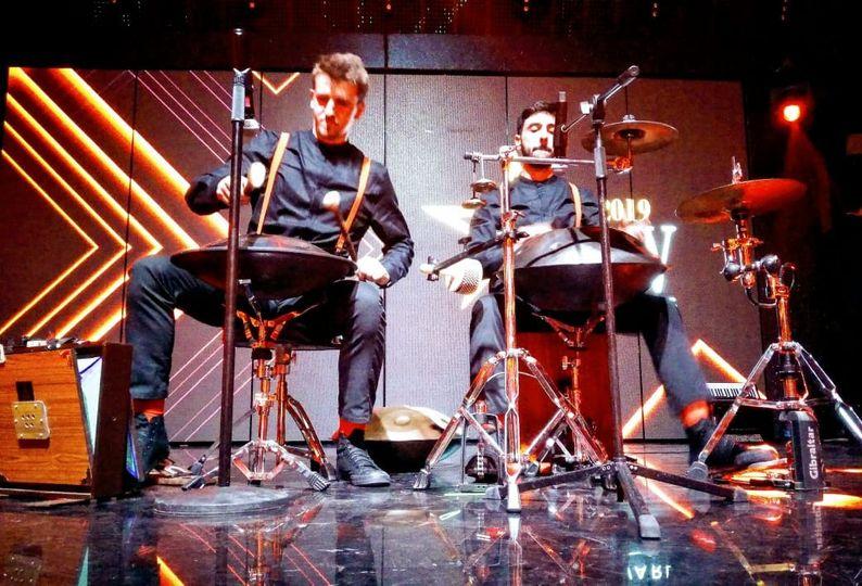 Hang drum show