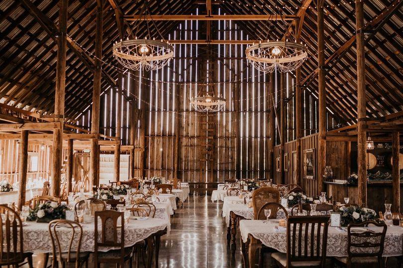 Soaring vaulted ceilings
