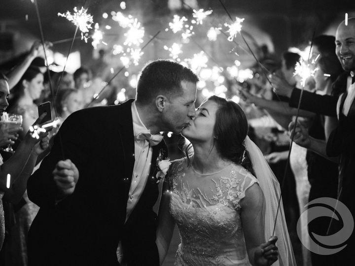 Tmx 1483994130569 Sparklersendoffwedding Red Bank, NJ wedding dj