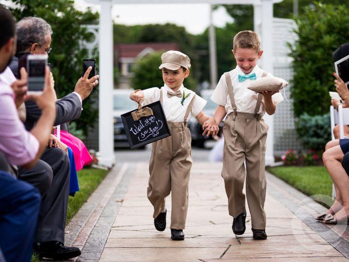 Tmx Ringbearers Walk Down Aisle Crystal Point Yacht Club 51 570658 160088401984788 Red Bank, NJ wedding dj