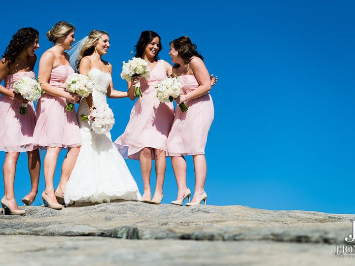 Tmx 1374676408493 Bride  Bridesmaids On Rock At Chapel Travelers Rest, South Carolina wedding venue