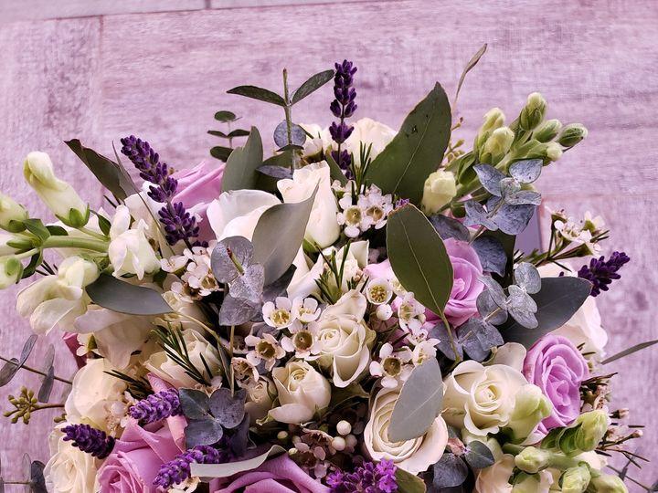 Tmx White And Purple Bouquet 51 541658 159916621212085 Waukesha, WI wedding eventproduction