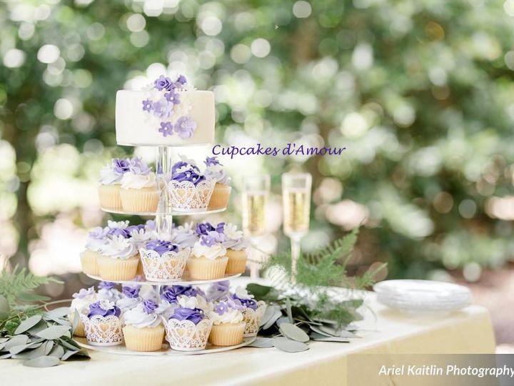 Tmx 1526996902 E5df246fe87c7f53 1526996901 61913525ed13faf4 1526996899419 1   ArielKaitlinPhot Raleigh, NC wedding cake