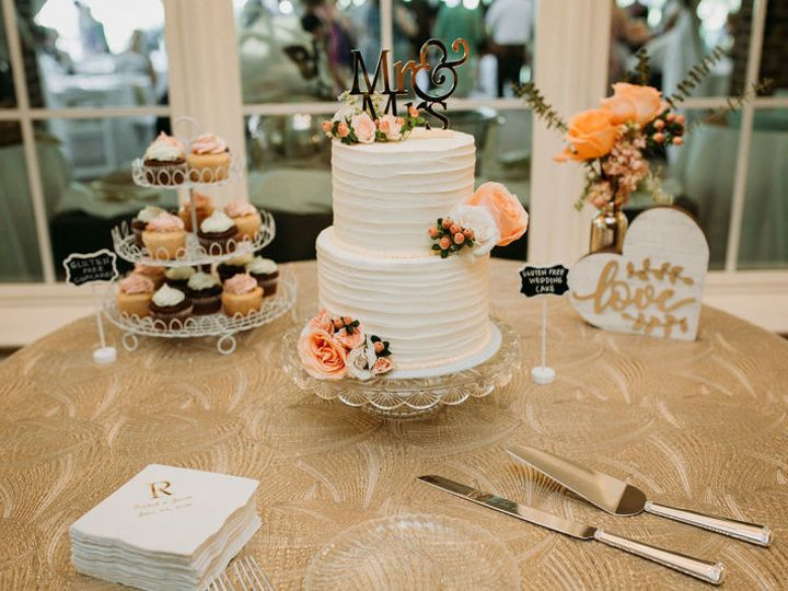 Tmx 1530733413 6dab7767b2ec190d 1530733412 F9a9ebf1a195c31d 1530733409799 1 800x800 Cupcakes D Raleigh wedding cake