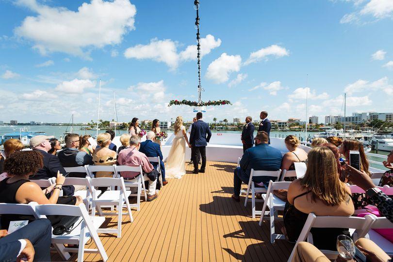 Yacht starship ceremony
